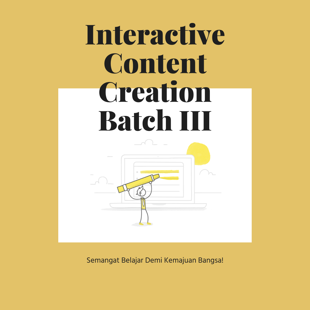 Interactive Content Creation Batch III