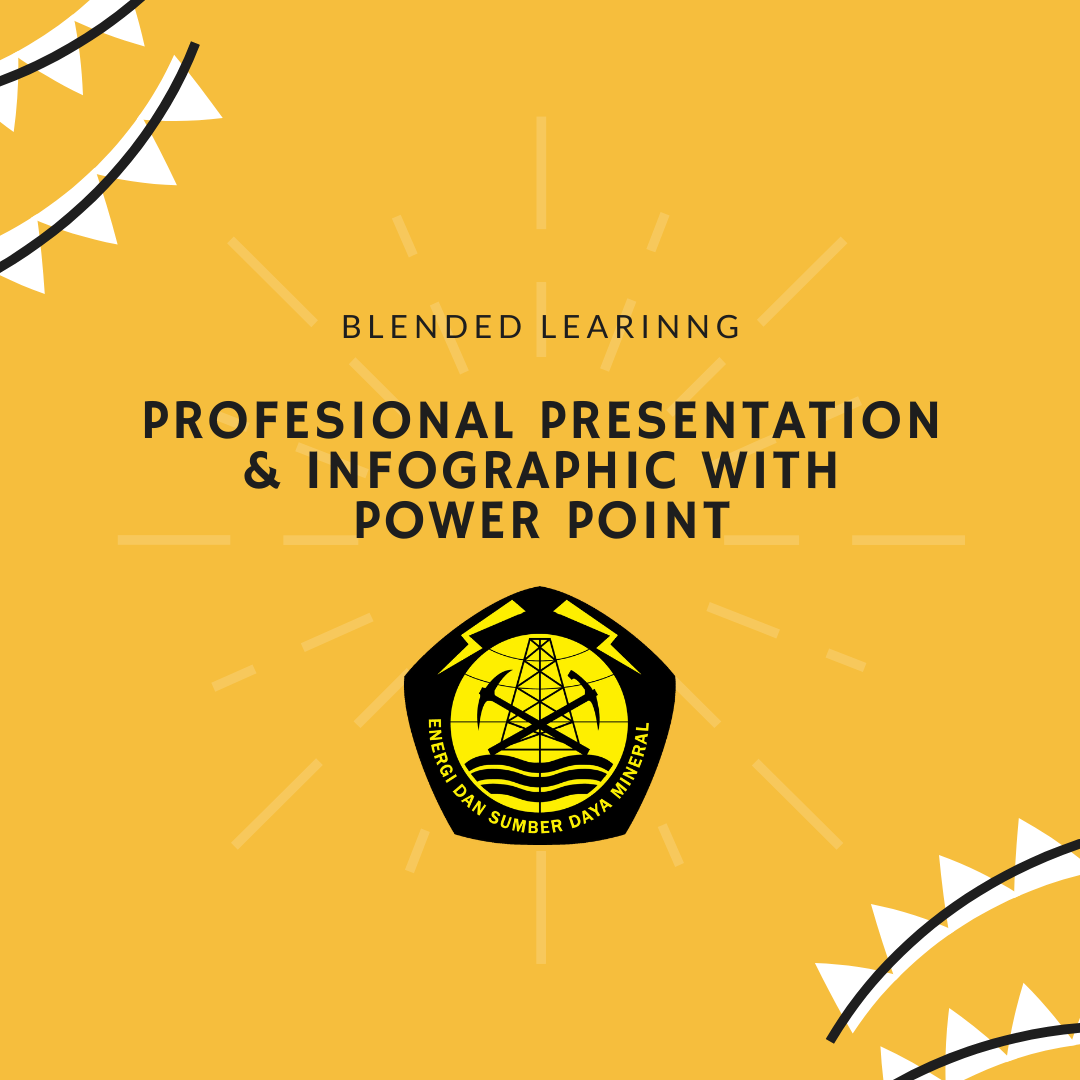 Blended Learning : Profesional Presentation & Infographic with Power Point